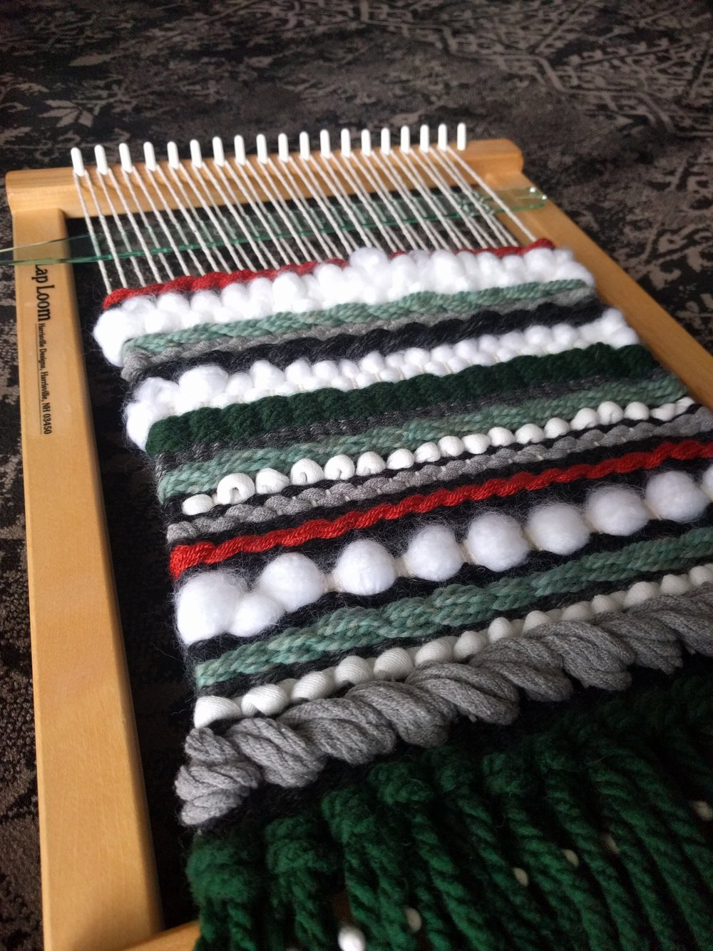 Weaving hobby progress - brianakapper.com