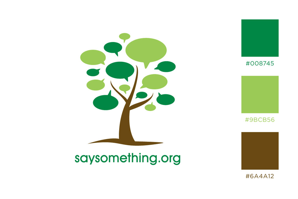 Say Something – Charity for positivity and support.