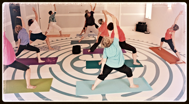 Bodies of all ages, abilities and sizes are invited to practice yoga at The Shift.
