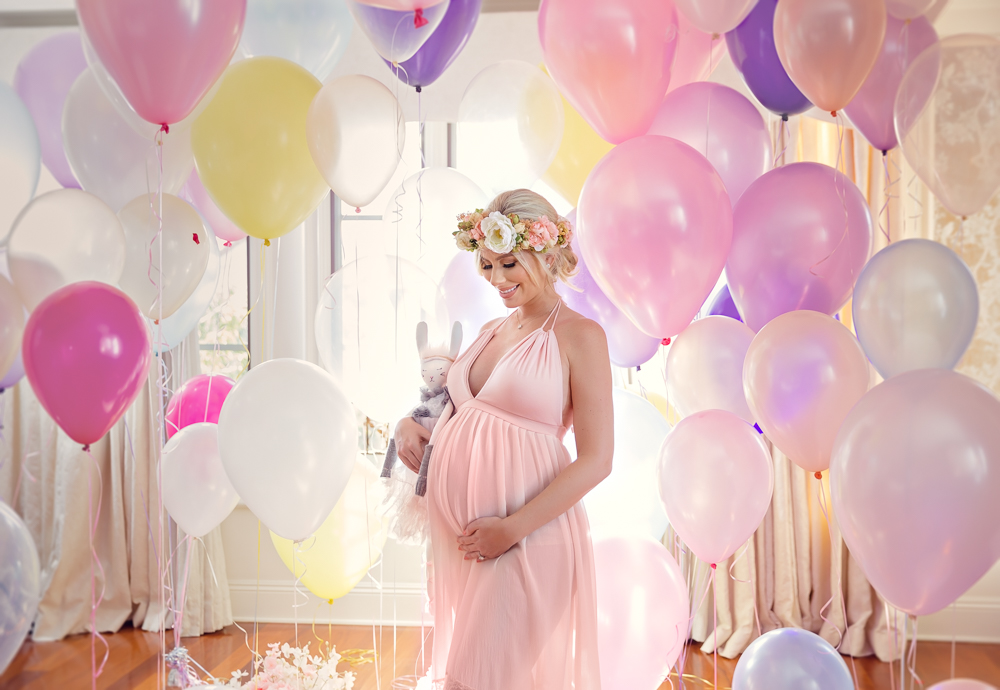 Los Angeles Fine Art Maternity Photography