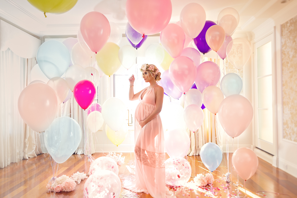 Los Angeles. California. Beautiful maternity session for stunning mama.