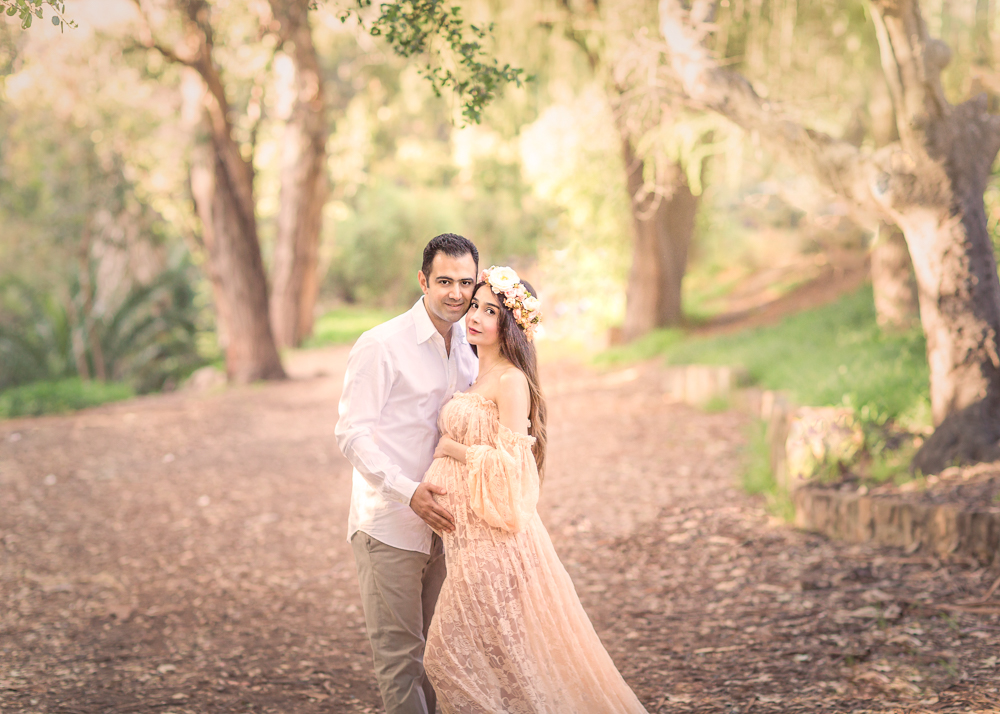 Stunning maternity session
