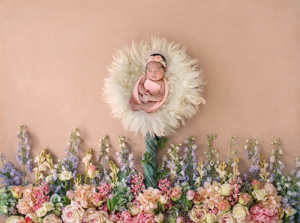 Fine Art Newborn Baby Photography