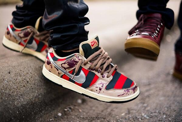 "Nike SB Low ""Freddy Krueger"""