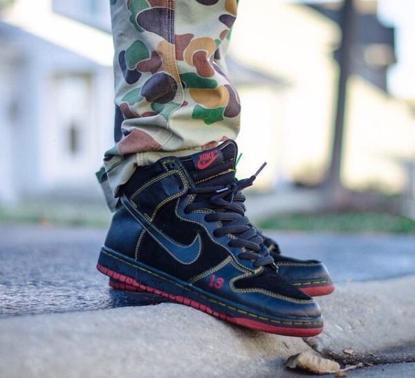 """Nike SB High """"Unlucky"""""""