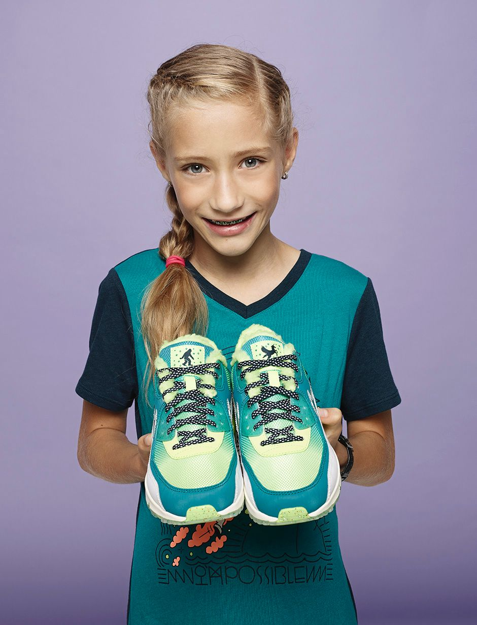 Emory Maughan, Age 10, Womens Nike Air Max 90, $120