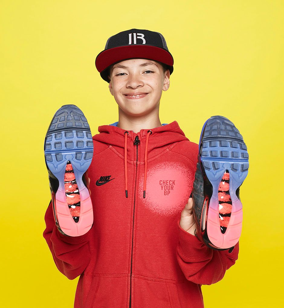 Jacob Burris, Age 14, Nike Air Max 95, $170