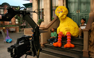 His work on  Sesame Street ...