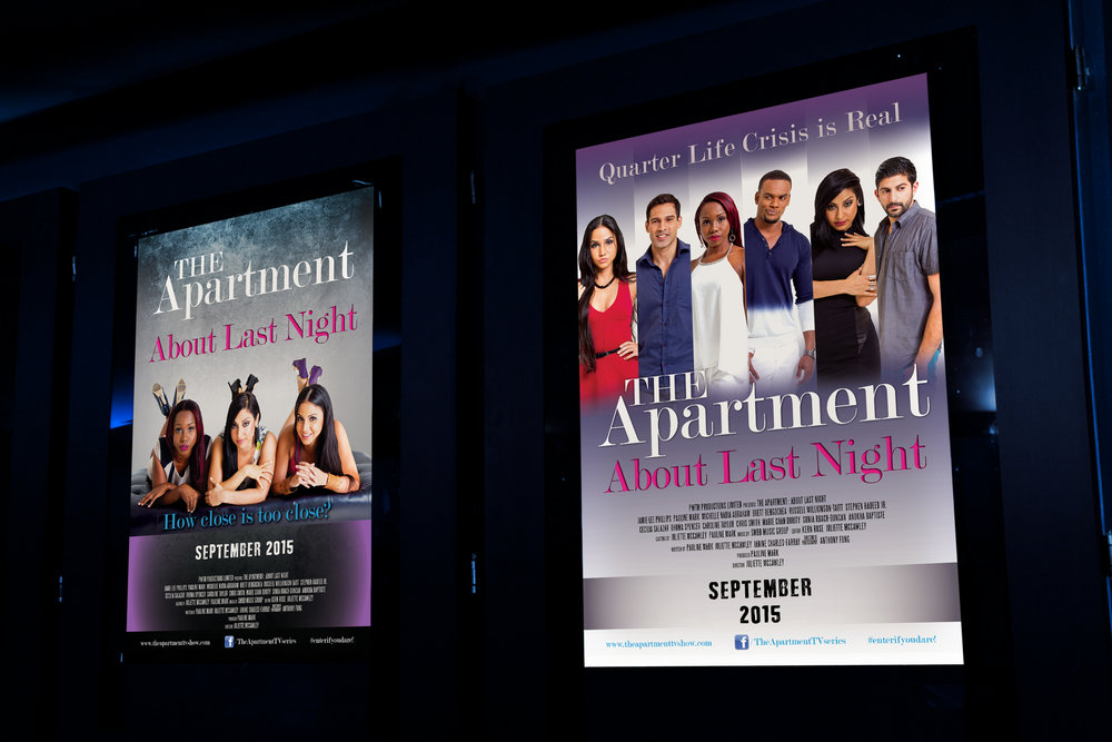 The Apartment Movie Posters - Client: PTWM ProductionsDescription: Design a series of four alternate Movie Poster Designs for the promotion of the 2015 launch of the local film series pilot for