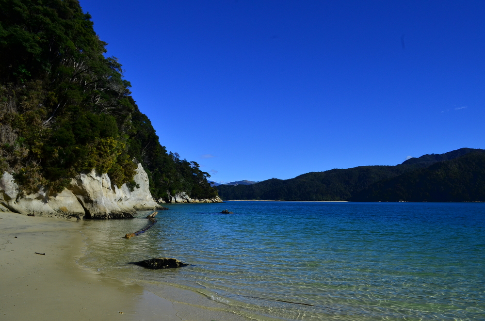 (2) Abel Tasman National Park, South Island.