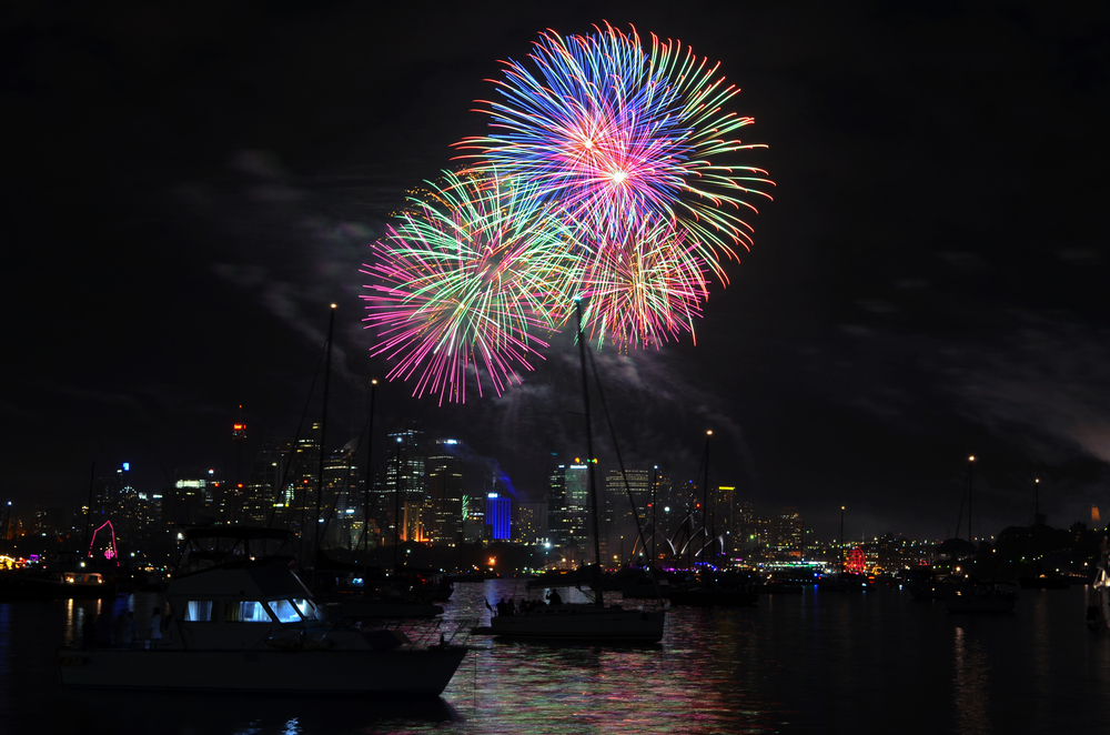 [9] New Years in the Harbour, Sydney, Australia.