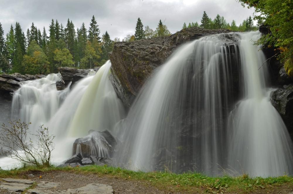 Ristafallet, Sweden.