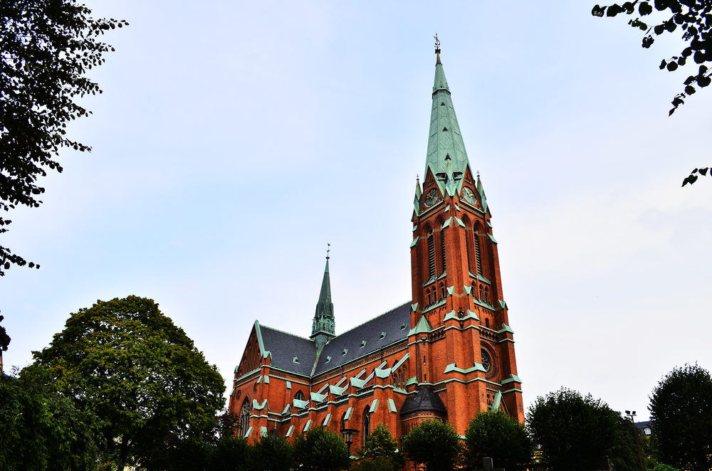 St. Johannes Church, Stockholm, Sweden.