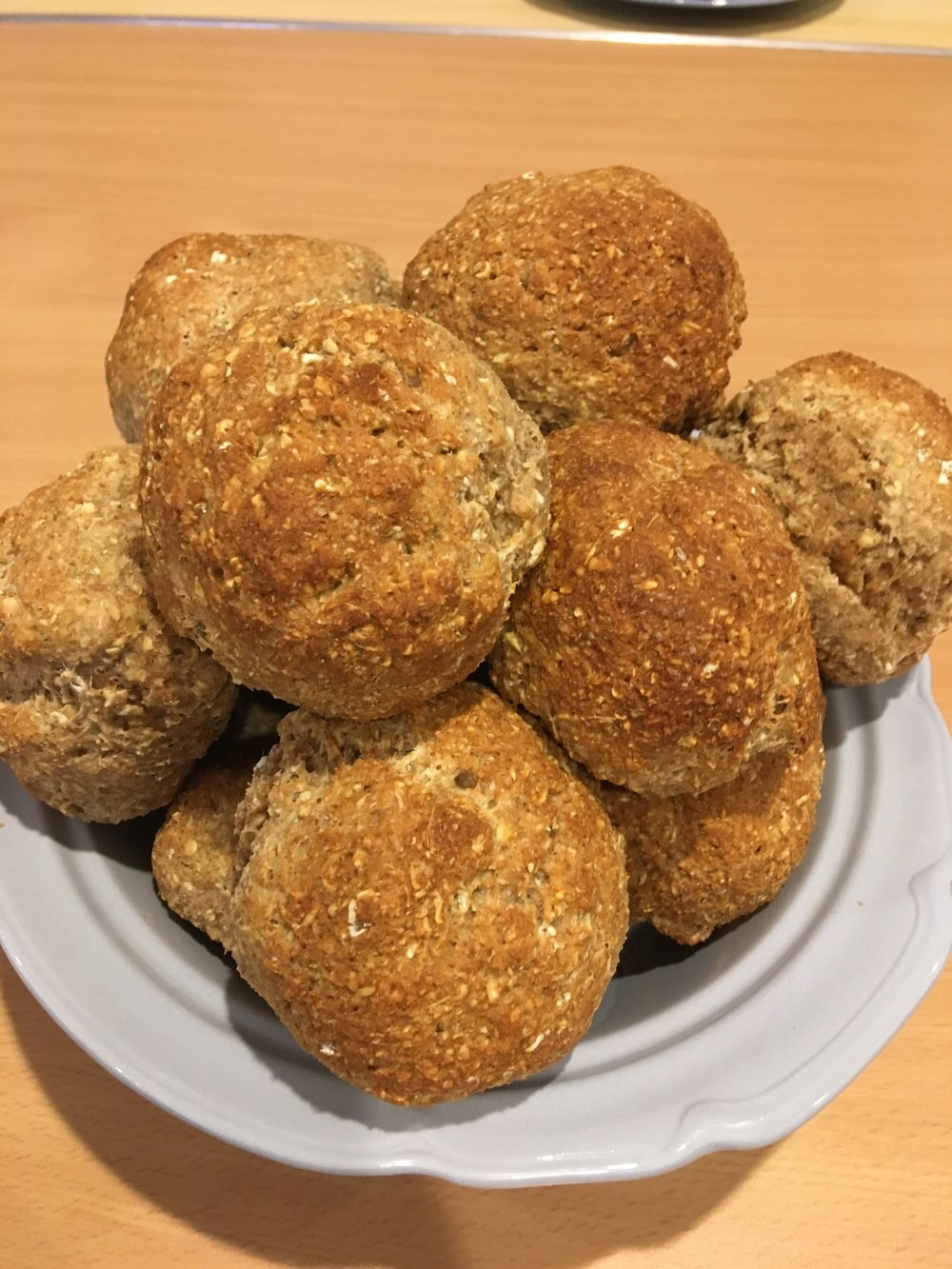 Soda bread rolls