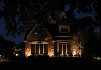 Outdoor lighting Wilmette IL