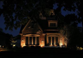 Outdoor lighting Lemont IL
