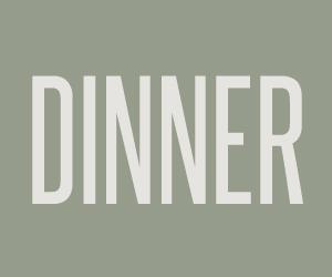 DINNER CATERING MENU