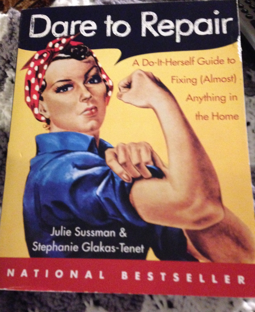 A great book for any self respecting woman to learn basic home repair.