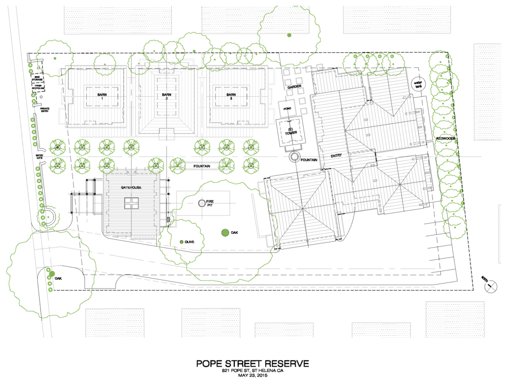 Conceptual Site Plan and building layout