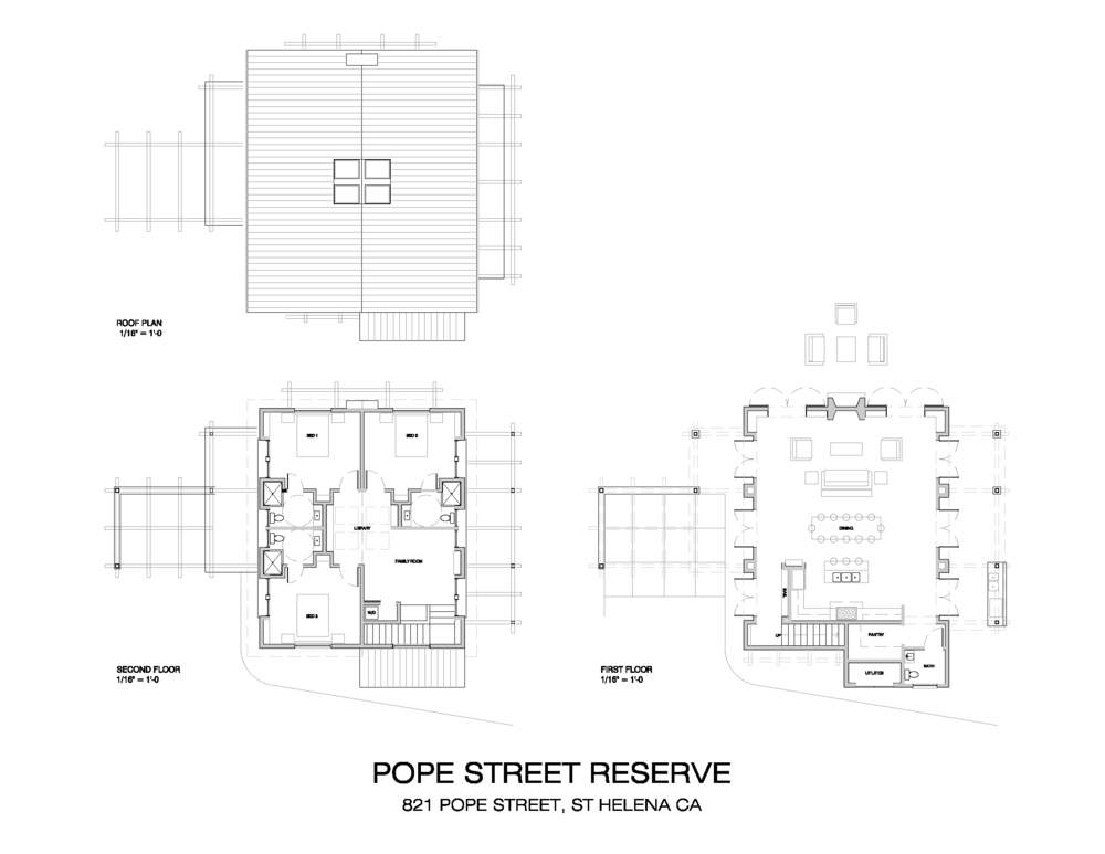 Conceptual Plans for Floorplans of the Gatehouse