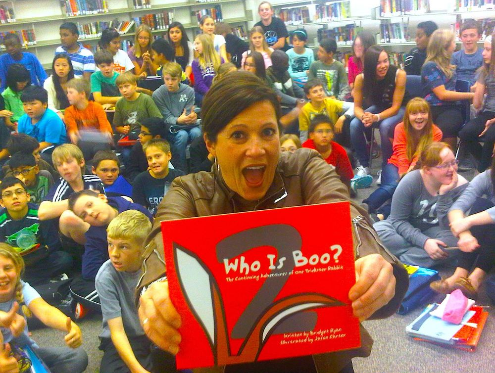 Book Reading McKee Elementary School, May 2014