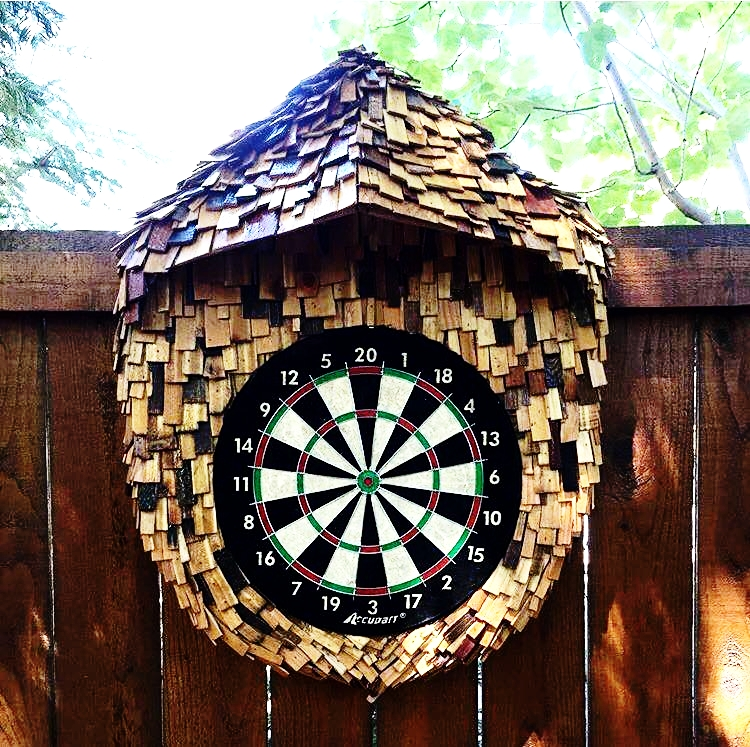 DART BOARD BACK BOARD -