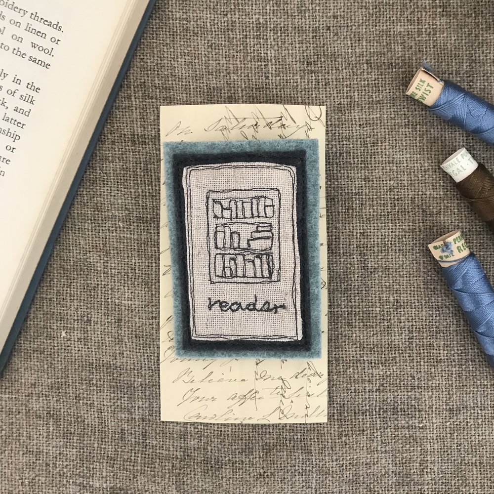 Bookcase brooch