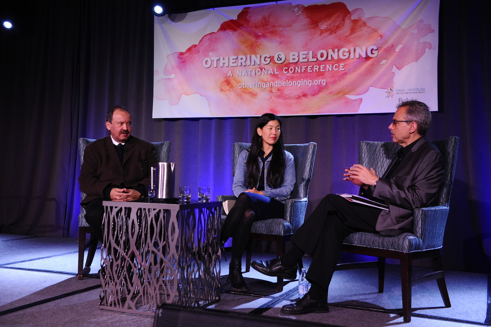 Left to right: Luis Garden Acosta, Ai-jen Poo, Manuel Pastor