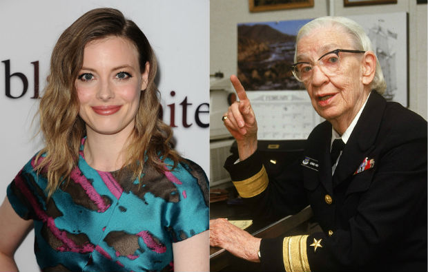 Director Gillian Jacobs and the late Grace Hopper.