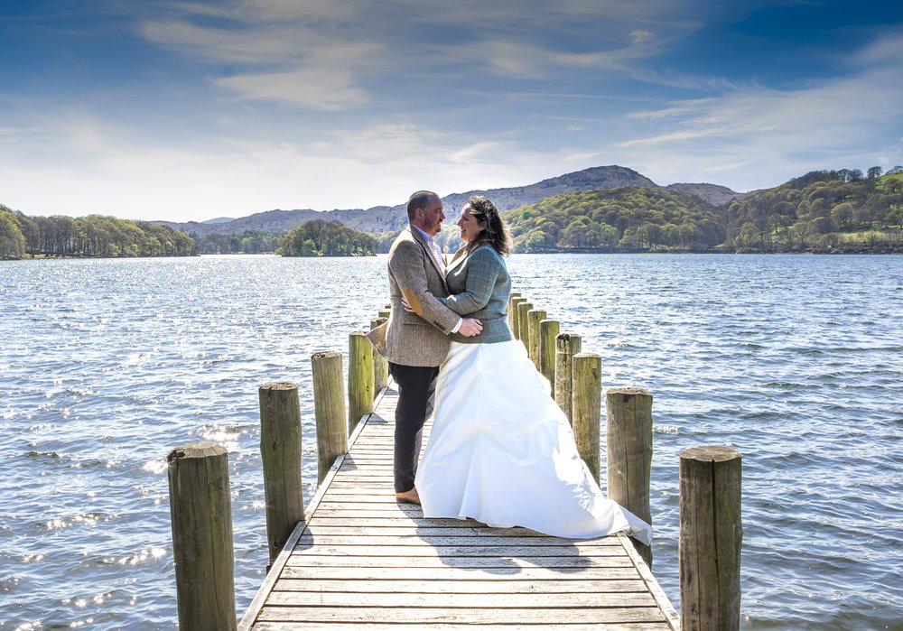 Steve Sarah Wedding Coniston Jetty.jpg