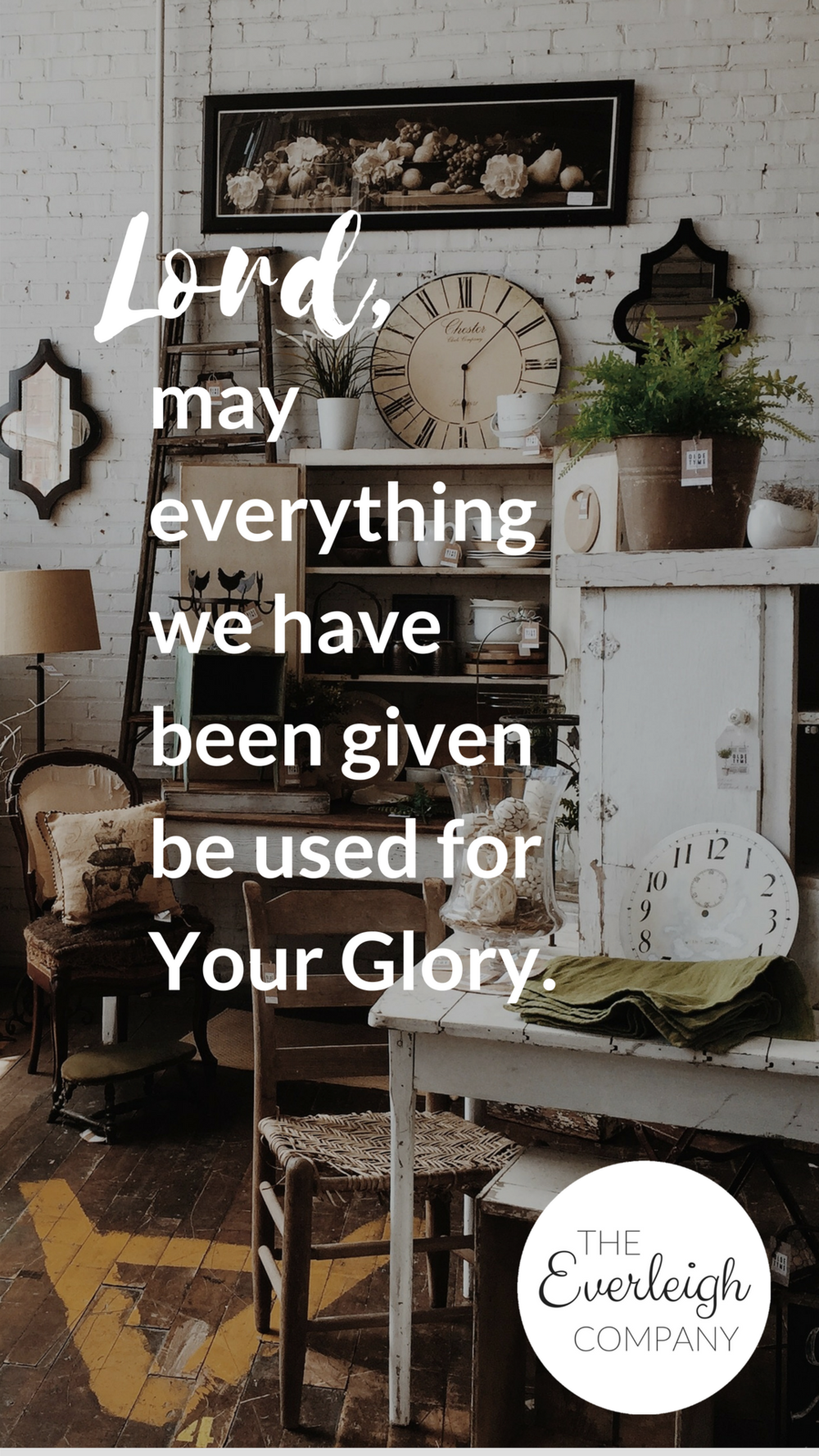 Everleigh Company iPhone Wallpaper Everything For Your Glory
