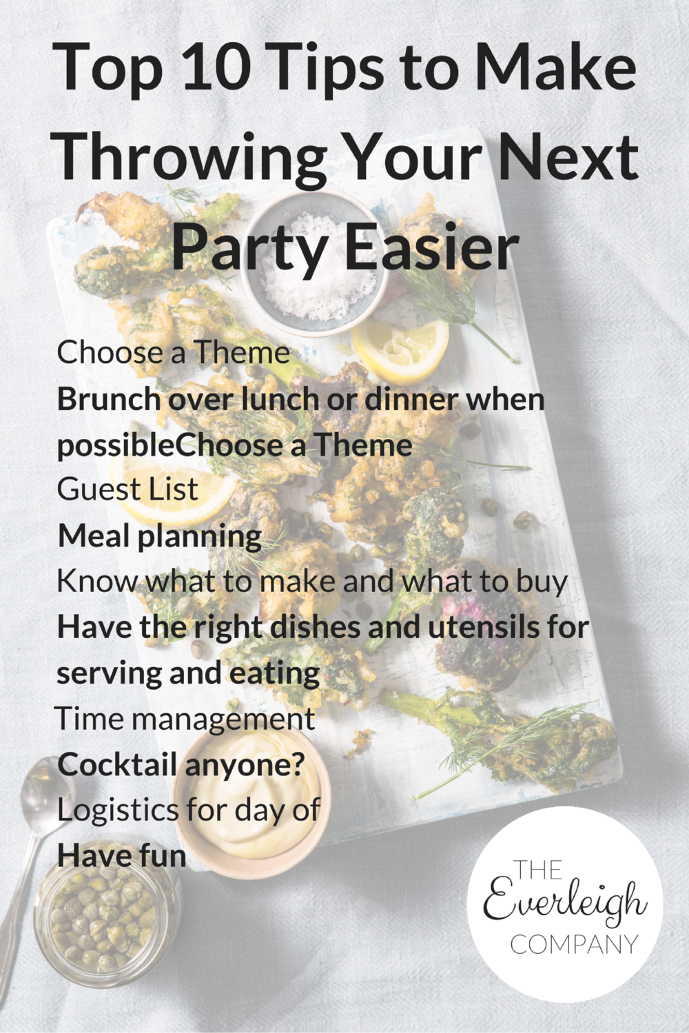 Top 10 tips to hospitality Everleigh Company