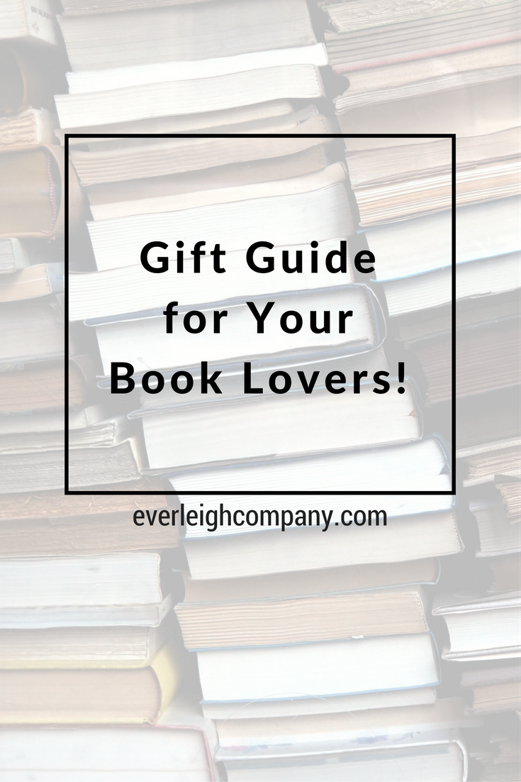 Gift Guide Book Lovers Everleigh Company Blog