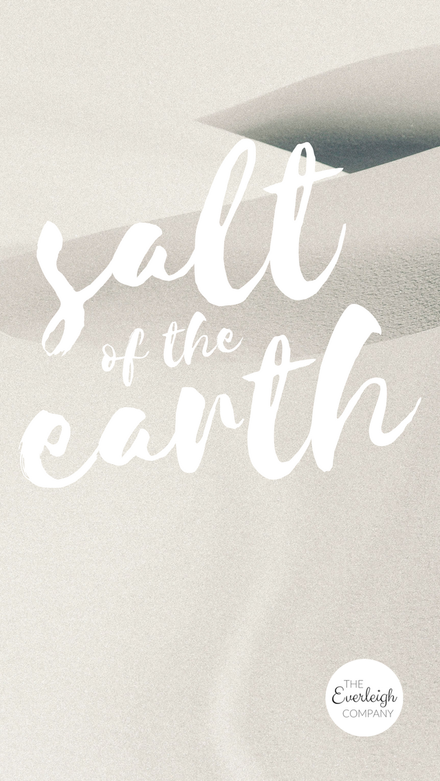 Bible verse salt of the earth iphone wallpaper.png