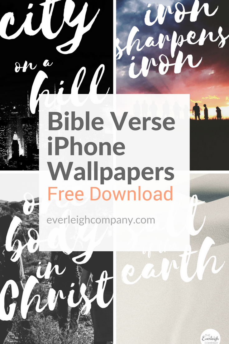 Bible Verse iPhone Wallpapers [Community Edition] — Indwelt