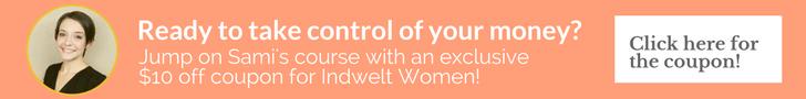 Sunny Money Method Coupon for Indwelt Women