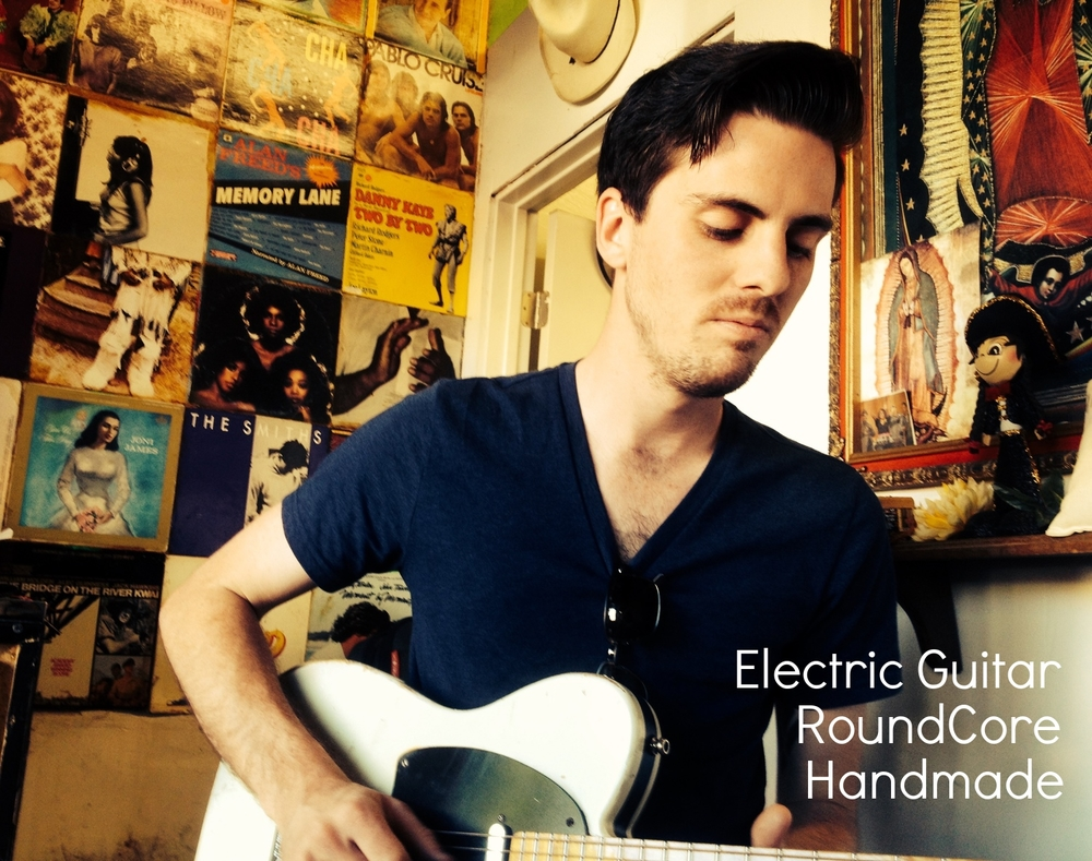Electric Guitar Strings                                                           Artist Mason Stoops