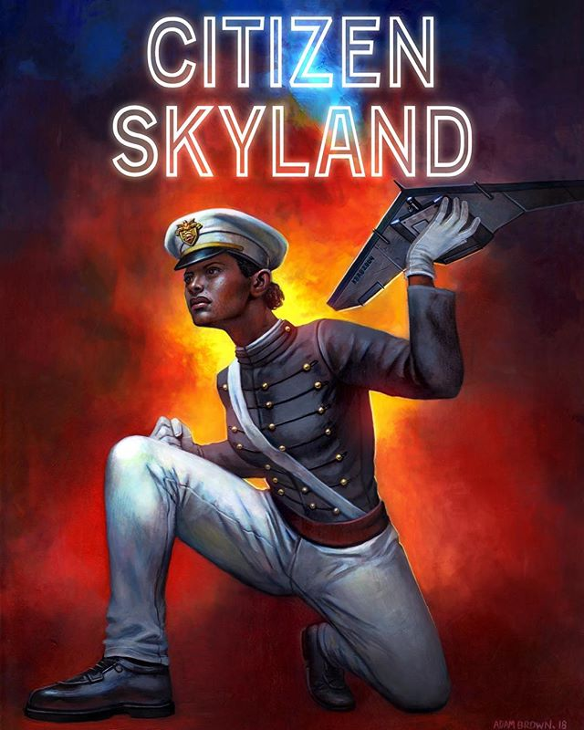   #TeamKickstarter   Introducing our next #strong  protagonist, Lilly Skyland.  @westpoint_usma cadet ✅ Most sought after drone operator ✅ Saves #NewYorkCity from attack ✅  #limitededition prints @acecomiccon CHI #artistalley BOOTH #40  #comingsoon #kickstarter #cupidunderthegoldknife #citizenskyland