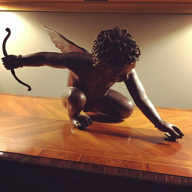 ||#Inspiration|| When we saw this statue in 2015 we thought why hasn't anyone transformed #Cupid into the badass he deserves to be? So we created Dr. Gabriel Kupidian, better known as Dr. Cupid, the world's most renowned heart surgeon who believes he can behaviorally modify the world's most dangerous terrorist through heart surgery. We can't wait to bring you the next volume in this universe and Cupid's next recruit #CitizenSkyland. Any thoughts on how we can spread the word for our Kickstarter? . . . #CupidUndertheGoldKnife