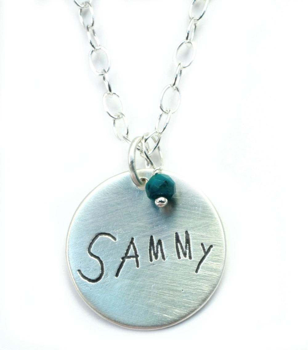 Sammy: Handwriting Charm