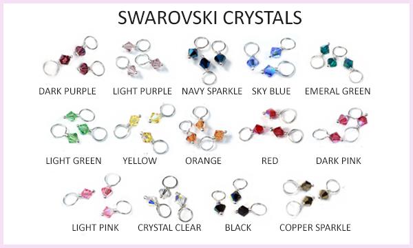 Swarovski Crystals: JennyWearJewelry