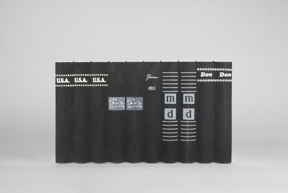 U.S.A, U.S.A, U.S.A , 2017 Chromogenic print 33 3/8 x 59 3/4 inches