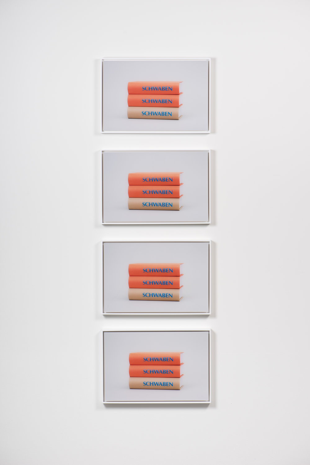 Schwaben (Stack), 2017 Four framed chromogenic prints 13 3/16 x 19 7/8 inches each Edition of 3 + 2 APs KISC-0011 $8,600