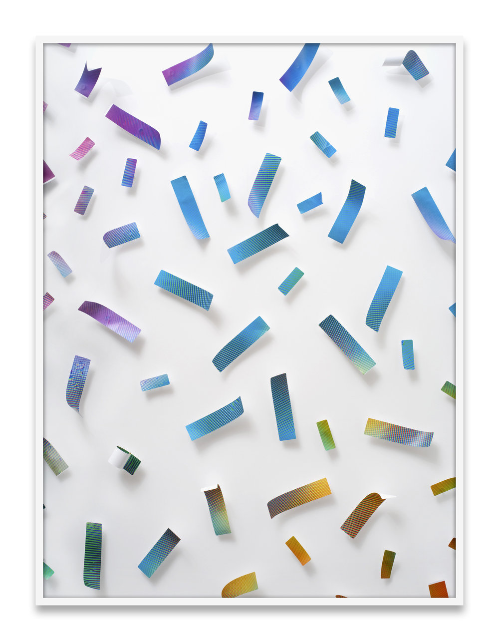 Valerie Green  labels (pinned) , 2016 Archival pigment print 58 x 42 inches