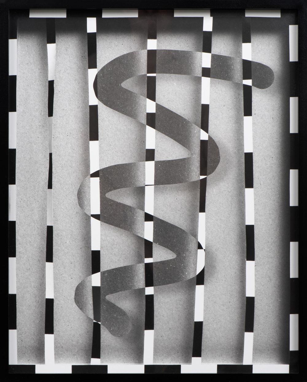 Physical , 2018 Silver gelatin print 20 7/8 x 16 3/4 inches