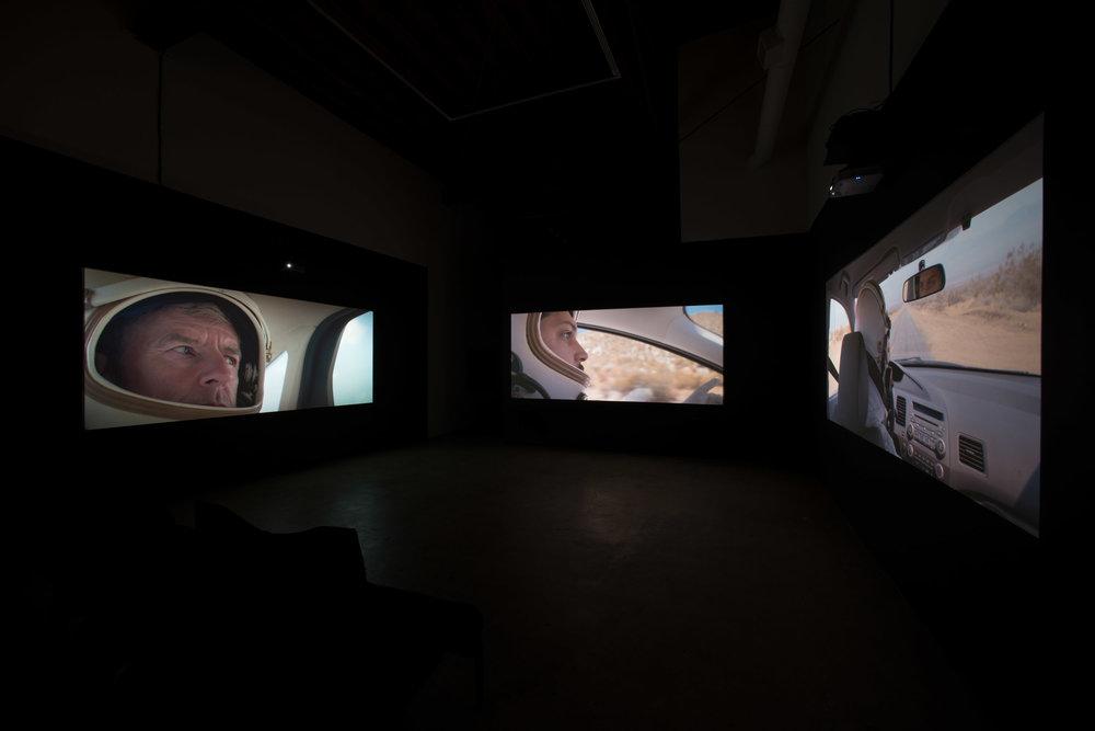 Installation View: Christopher Richmond, Space, November 10 - December 22, 2018, Moskowitz Bayse, Los Angeles