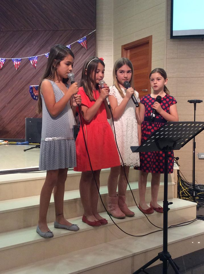 Music Recital at the Alfa & Omega School