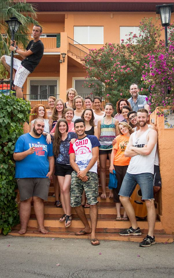 International Volunteers at the Centro