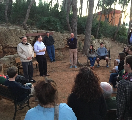 Dedication of CABC's special space in the Prayer Garden