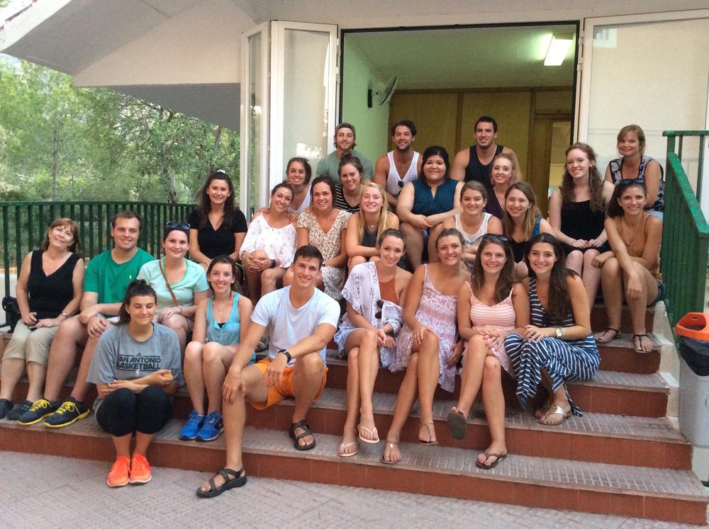 Baylor University's 2015 Mission Trip to Colegio ALfa & Omega - Dénia